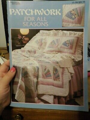 Very Nice 1995 Patchwork For All Seasons By Leisure Arts 15 Projects Book