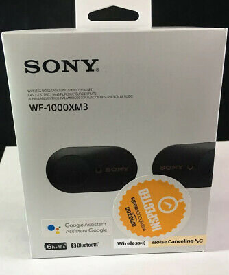 Sony WF-1000XM3 Wireless Noise Cancelling Headphones - Black