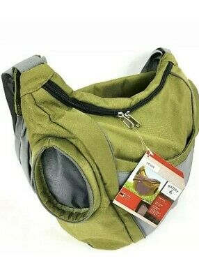 New Daddy and Company Diaper Slide Bag Dad Stylish Large Olive Green MSRP $140