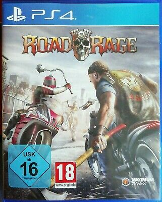 ROAD RAGE PlayStation 4 PS4 ~ Import Game in English - Brand New & Sealed!