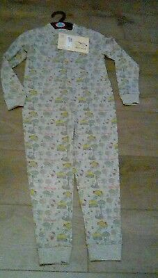 M&S Girls Hello Kitty & Little Miss Sunshine onepiece pjs age 5-6 years BNWT""