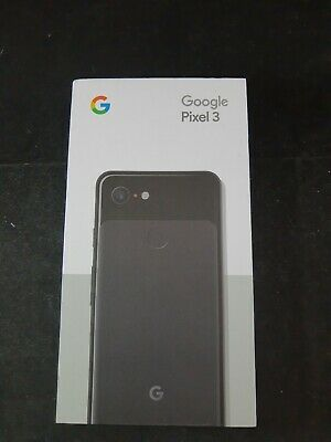 Google PIXEL 3 - Pixel 3 with 128GB Memory Cell Phone (Unlocked) - Just Black