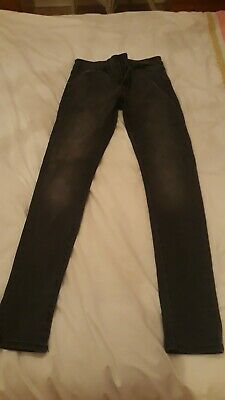 Next boys/mens super skinny jeans great cond grey jeans 30L