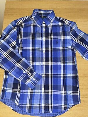 GENUINE Ralph Lauren Boys Shirt Age 10-12 Medium Kids