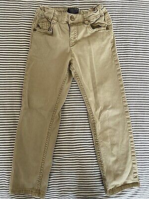Mayoral Boys Chinos, Smart Casual Trousers. Colour Camel, Age 4