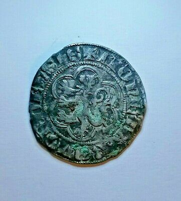 REINOUD III NORTHERN NETHERLANDS Grote 1336-1369 VERY RARE RRRR