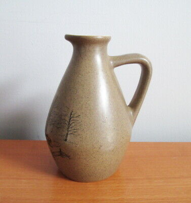 Beauce Pottery Maple Syrup Jug 3729 Turkey Hill 1980s Beauceware Quebec Signed