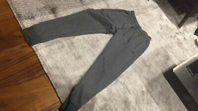 Next boys joggers jogging bottom age 12 years/152cm. Grey. Slim Fit. Good cond
