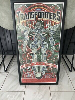 RARE!!! Transformers: Dark of the Moon Movie Collector's Posters
