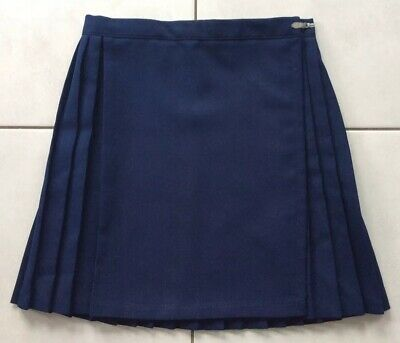 "Netball / Pe / Games Skirt, Navy, 26"" Waist, 16"" Length, Kilt Syle"