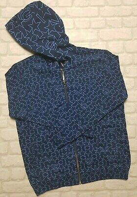 NEW! Authentic Givenchy Geometric Star Print Hoodie Top Jacket size S RRP £810
