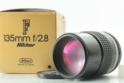 【NEAR MINT IN BOX】 Nikon Ai-s Nikkor 135mm F2.8 MF Telephoto Lens From Japan 252