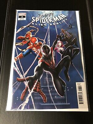 Marvel Comics Symbiote Spider-Man Alien Reality #3 Yuan Connecting Var 2020 NM