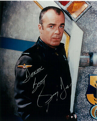 "Babylon 5 Jerry Doyle as  ""Michael Garibaldi"" signed COA 10"" by 8"" (To Derek)"