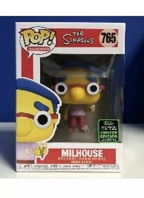 Funko Pop Simpson's Milhouse 2020 ECCC Shared Exclusive Preorder