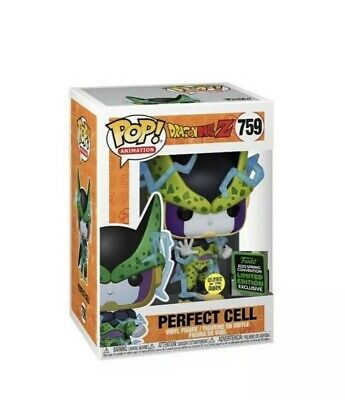 Funko! DBZ PERFECT CELL GITD 2020 ECCC Shared Exclusive PREORDER+Protector!