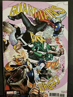 Guardians Of The Galaxy #1    Pepe Larraz Variant    First Print   Marvel   Nm
