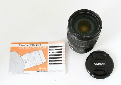Canon EF 28-135mm f/3.5-5.6 IS USM Lens, Sharp, Fast & Clean Free Expedited Ship
