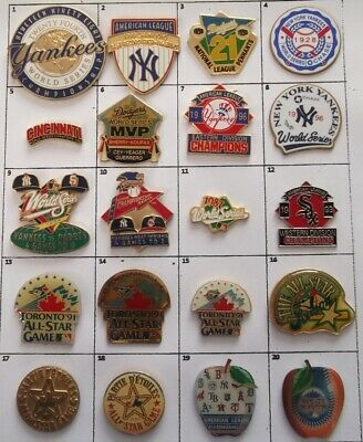 Different Teams Mlb Baseball World Series All Star Game ++Pin (Your Choice) G844