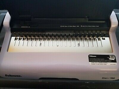 Fellowes Star 150 Comb Binding Machine