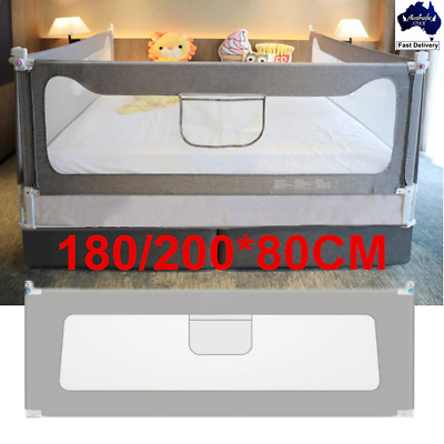 1.8M/2M Safety Cot/Bed Rail Guard Bedguard For Baby Infant Toddler Kids