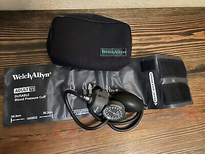 Welch-Allyn Tycos Classic Hand Held Aneroid Sphygmomanometer with Adult 11 Cuff