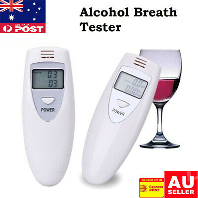 New Breathalyzer Portable Digital Alcohol Tester for Personal Use - LCD Display