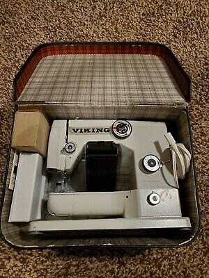 Vintage Shagadellic Viking Meister Sewing Machine. Made in Germany.