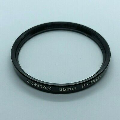 [ N MINT ] Contax Original P Filter 55mm For 21 25 28 30 35 85 100 From Japan