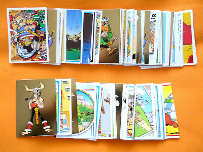 lot de 120 cartes -  Asterix -  Carrefour 2019  -  Autocollants - panini