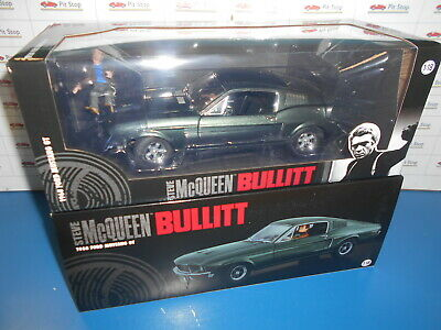 Greenlight Ford Mustang Gt Fastback Bullit-The Movie 1968 W.figure 1:18