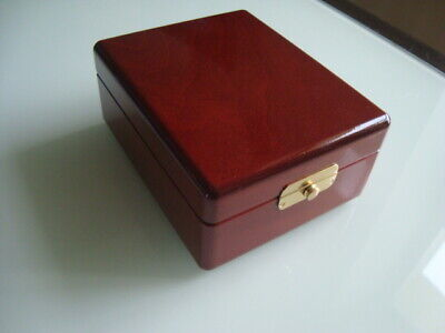 Russian marine chronometer Deck watch(KIROVA.POLET) spare part  box (BEECH)