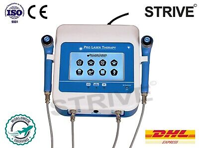 Advanced Chiropractic Low Level Laser Therapy Cold Physiotherapy Machine 2 Probe