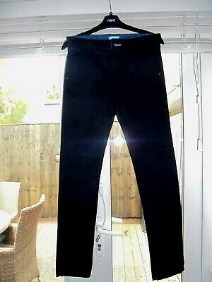 BOYS COTTON JEANS BY NEXT. BLACK. AGE 12 years. WAIST IS 28 inches. Adjustable.