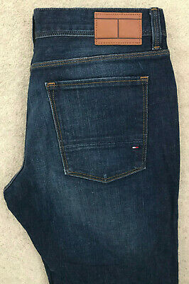 Tommy Hilfiger Denim Jeans! Mens W33/L30 Blue! Slim Straight Fit! Stretch