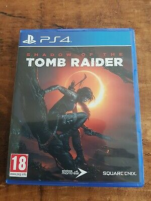 Shadow Of The Tomb Raider Sony Playstation 4 PS4 (New Not Sealed)