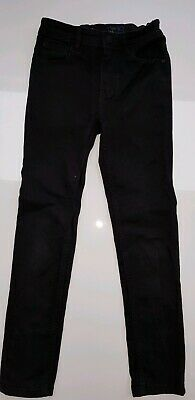 Boys NEXT Black Skinny Jeans Age 10 Slim. Excellent Condition