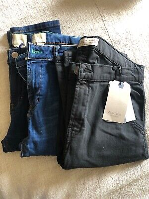Boys Jeans 3 Pairs Size 13 Years Zara/ Boden