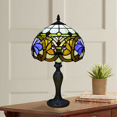 Tiffany Style Antique Design Table Lamp High Quality Hand Crafted Stained Glass