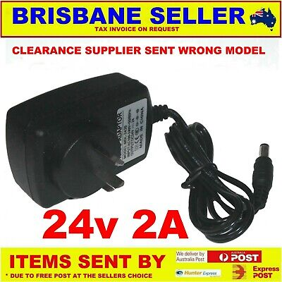 24V Power Supply 2A Clearance Supplier Sent Wrong Items 1