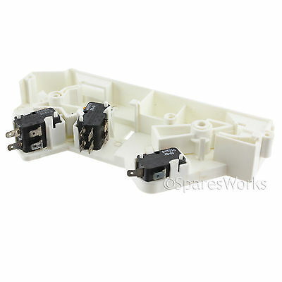 Genuine SAMSUNG Microwave Combination Oven Microswitch Housing Latch Body