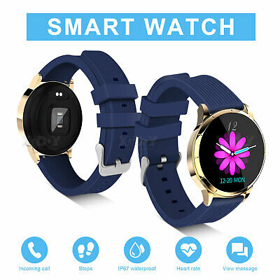 XGODY Women Men HD Smart Watch Fitness Bracelet IP67 For iPhone Android Samsung