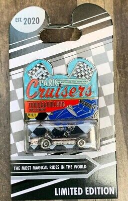 Disney Park Cruisers Bi Monthly Pin Tomorrowland Speedway LE 2000