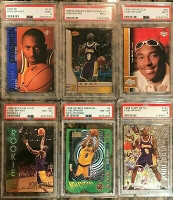 *Buyback Pack Please Read* > Kobe Bryant 1996 Psa Rookie Rc Chase Pack > 5 Cards