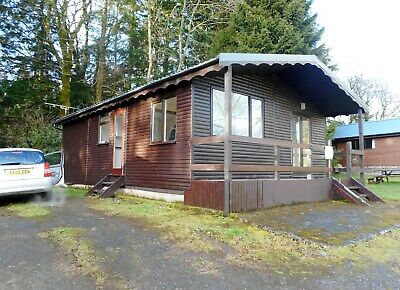 LOG CABIN for sale on site in Dumfries and Galloway- PART EXCHANGE CONSIDERED