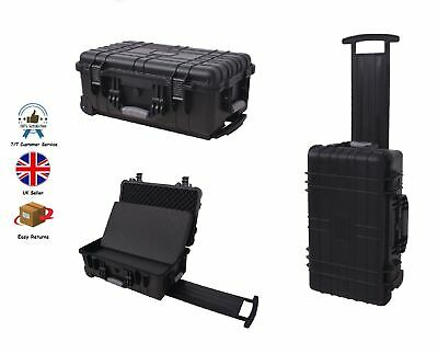 Protective Camera Equipment Hard Carry Case Trolly Box Tool Accessories Storage