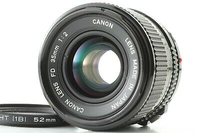 【NEAR MINT】 Canon New FD NFD 35mm f/2 MF Wide Angle Lens For F-1 A-1 From JAPAN