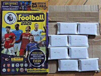Panini FOOTBALL 2020 UNOPENED ALBUM & Complete Loose Set Of Stickers in order