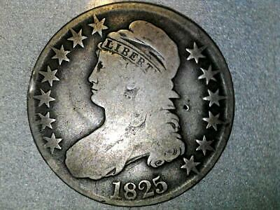 1825 P Capped Bust Half Dollar