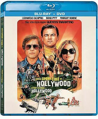 Once upon a Time in Hollywood BLU-RAY +DVD +SLIPCOVER BRAND NEW SEALED FAST SHIP
